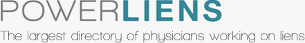 Power Liens. The largest directory of physicians working on liens